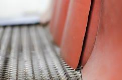 Κύλινδροι μεταφορέων στις εγκαταστάσεις τυπωμένων υλών στοκ φωτογραφία με δικαίωμα ελεύθερης χρήσης