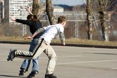 κύλινδροι παιχνιδιού Στοκ φωτογραφίες με δικαίωμα ελεύθερης χρήσης