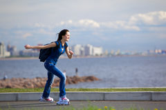 κύλινδρος κινήσεων Στοκ Εικόνες