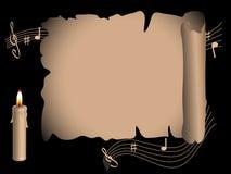 κύλινδρος σημειώσεων Στοκ φωτογραφία με δικαίωμα ελεύθερης χρήσης