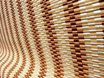 κύλινδρος τυφλών ξύλινος Στοκ Φωτογραφία