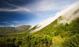 κύλισμα palma Λα σύννεφων Στοκ εικόνα με δικαίωμα ελεύθερης χρήσης