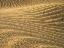 Κύματα άμμου Στοκ φωτογραφία με δικαίωμα ελεύθερης χρήσης