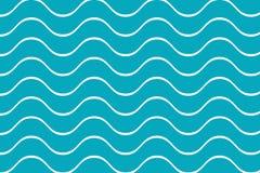 Κύματα άνευ ραφής Στοκ Εικόνες