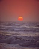 κύματα ήλιων Στοκ Φωτογραφία