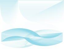 κύματα ανασκόπησης wireframe Στοκ Εικόνες