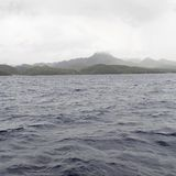 κύματα βουνών Στοκ Εικόνες