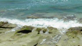 Κύματα & βράχοι Στοκ Εικόνα