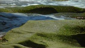 Κύματα & βράχοι Στοκ Φωτογραφίες