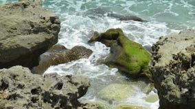 Κύματα & βράχοι Στοκ Φωτογραφία