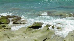 Κύματα & βράχοι Στοκ εικόνες με δικαίωμα ελεύθερης χρήσης
