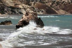 κύματα βράχου Στοκ Εικόνες