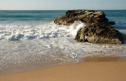 κύματα βράχων Στοκ Φωτογραφίες