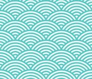 Κύματα γεωμετρικό πρότυπο Άνευ ραφής ανασκόπηση απεικόνιση αποθεμάτων
