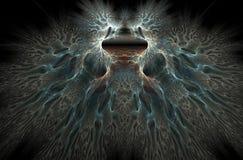 κύματα εγκεφάλου Στοκ φωτογραφία με δικαίωμα ελεύθερης χρήσης