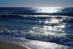 κύματα θάλασσας Στοκ Φωτογραφίες