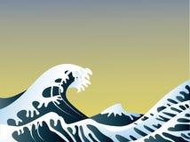 κύματα θάλασσας Στοκ Φωτογραφία