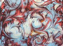 Κύματα και ebru σχεδίων κεραμιδιών Στοκ Φωτογραφία