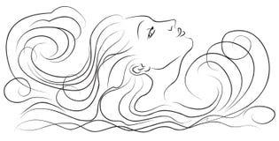 κύματα κοριτσιών Στοκ Φωτογραφία