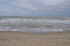 Κύματα Μαύρης Θάλασσας Θυελλώδης ημέρα Παραλία Στοκ εικόνες με δικαίωμα ελεύθερης χρήσης