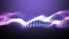 Κύματα μουσικής με τις σημειώσεις φιλμ μικρού μήκους
