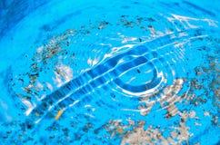 Κύματα νερού επιφάνειας Στοκ Φωτογραφίες