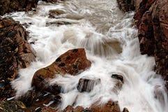 Κύματα παραλιών του Αμπερντήν Στοκ Φωτογραφία