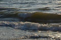 κύματα παραλιών Στοκ Εικόνα