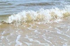 Κύματα παραλιών της Φλώριδας Στοκ φωτογραφίες με δικαίωμα ελεύθερης χρήσης