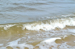 Κύματα παραλιών της Φλώριδας Στοκ εικόνες με δικαίωμα ελεύθερης χρήσης