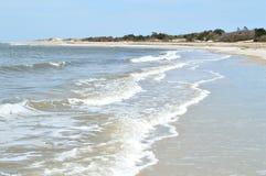 Κύματα παραλιών της Φλώριδας Στοκ Εικόνα