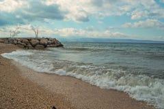 κύματα παραλιών Στοκ Φωτογραφία