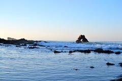 Κύματα πρωινού Newport Beach Στοκ Εικόνα