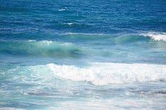 Κύματα σε Argentiera Στοκ Φωτογραφίες