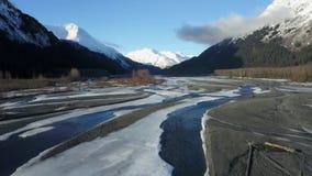 Κύματα στα από την Αλάσκα παλτά απόθεμα βίντεο