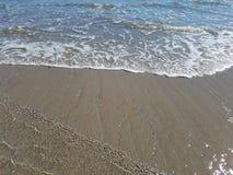 Κύματα στην παραλία από τον Ατλαντικό Ωκεανό Στοκ φωτογραφίες με δικαίωμα ελεύθερης χρήσης