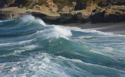 Κύματα στην παραλία 3 Στοκ Εικόνες