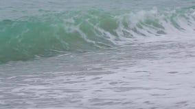 Κύματα της Μαύρης Θάλασσας 016 απόθεμα βίντεο