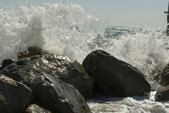 Κύματα της Μαύρης Θάλασσας Στοκ εικόνες με δικαίωμα ελεύθερης χρήσης