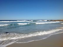 κύματα του Ατλαντικού Ωκεανού Στοκ εικόνα με δικαίωμα ελεύθερης χρήσης