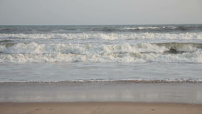 Κύματα του Ινδικού Ωκεανού απόθεμα βίντεο