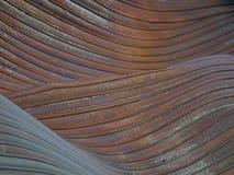 Κύματα του μετάλλου Στοκ Φωτογραφία