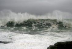 κύματα τυφώνα κόμη Στοκ φωτογραφίες με δικαίωμα ελεύθερης χρήσης