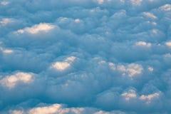 Κύματα των σύννεφων Στοκ φωτογραφίες με δικαίωμα ελεύθερης χρήσης