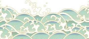 Κύματα ελεύθερη απεικόνιση δικαιώματος