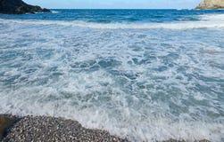 Κύματα Argentiera Στοκ φωτογραφία με δικαίωμα ελεύθερης χρήσης