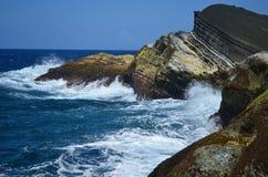 Κύματα Biri Στοκ φωτογραφία με δικαίωμα ελεύθερης χρήσης