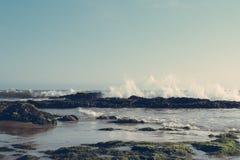 Κύματα Cresting Στοκ Εικόνες