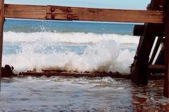 Κύματα Cromer στοκ εικόνες με δικαίωμα ελεύθερης χρήσης