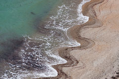 κύμα άμμου προτύπων στοκ εικόνες